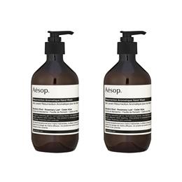 2Pcs Aesop Resurrection Aromatique Hand Wash 16.9oz 500ml