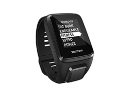 (TOCG9) TomTom Spark 3, GPS Fitness Watch and Activity Tracker (Black, Large)-WT3