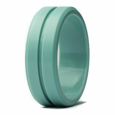 Rubber Wedding Bands.Unii Silicone Wedding Ring Safety Rubber Wedding Band Athletic Ring For Active Men Thin Groove