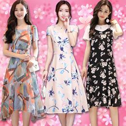 2018 New Arrival Korea Design / Women Dress / Losse Fit Basic Blouse / Summer Long / T-shirt Tops