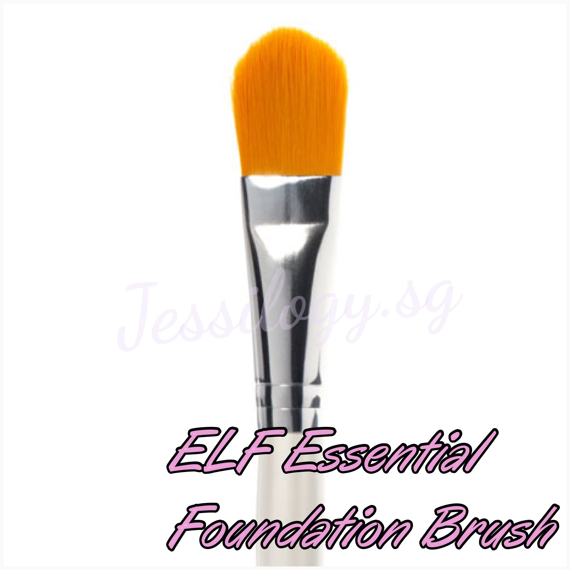 Qoo10 Elf Foundation Brush Diet Styling