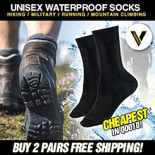 100% Waterproof Socks For Sports/Hiking/Military/Running/Mountain Climbing/Travel