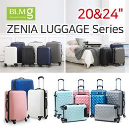 Zenia Cube/Trip/Milo/Mylo with FREE GIFT Travel Luggage/ABS/Sturdy/20/24/28