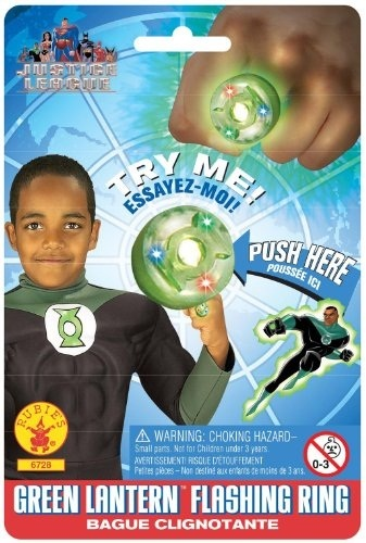Qoo10 Kids Green Lantern Ring Kids Fashion