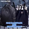 BEST SELLER! 3 STAR BACKPACK And Shoulder Bag -TAS RANSEL - Tas Wanita - Free Ongkir Jabodetabek