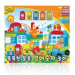 ★New Pororo smart block / Pororo english and numbers block / Pororo playing block