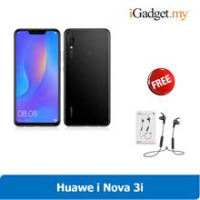 Huawei Nova 3i 4GB RAM/ 128GB ROM (Huawei Malaysia Warranty) - FREE GIFT!!!
