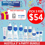 Mustela 3 for $54 Bundle + FREE Travel Set [Official Store]