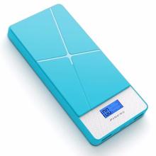 Pineng PN983s 10000mAH Lithium Polymer Slim PowerBank Pink/Blue/White