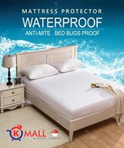 Waterproof Bedsheet / Waterproof Mattress Protector / Single Queen Size Bed Sheet Protective Cover