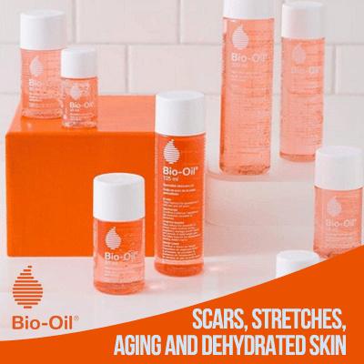 BIO OIL effective for Stretch Marks / Dry Skin / Warna Kulit tidak Rata 60mL / 125mL / 200mL