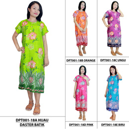 Short Batik Dress / Night Gown / Pajamas (DPT001-18)
