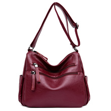Shoulder Sling Bag For Women Girls Pu Leather Casual Fashion