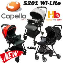 Capella S201 Wi-Lite™ Stroller 3 Colour available