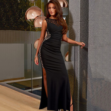 Plus Size M-3XL ~ Euro Fitting Ladies Party/Dinner Long Dress
