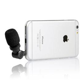 Saramonic SmartMic (Condenser Microphone iMic for Apple iPhone iPad Smartphone Tablet)