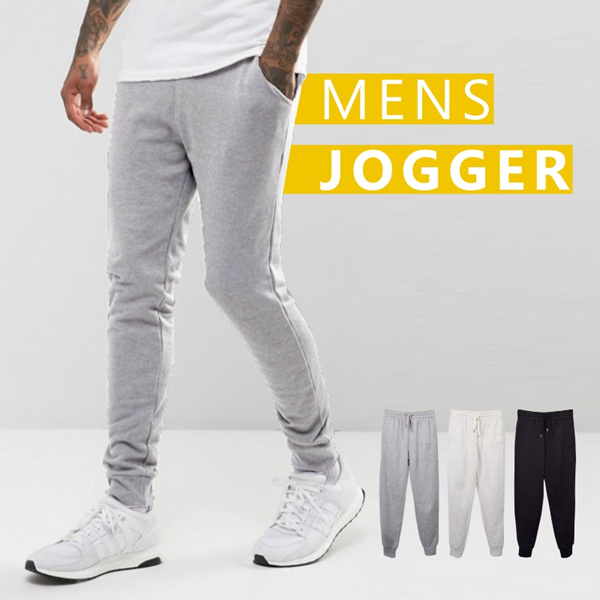 New Collection Branded Mens Jogger Pants 3 Colors Deals for only Rp85.000 instead of Rp85.000