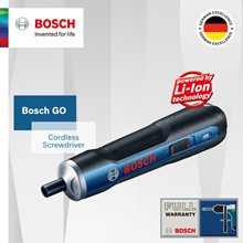 Bosch GO Cordless Screwdriver. Qoo10 New Launch Exclusive.