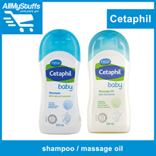 【Cetaphil Baby】Baby Gentle Wash / Shampoo / Massage Oil