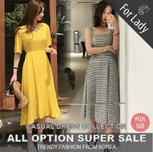 ♥Buy Get Free Gift♥23rd Update ♥Korean Style♥ Linen / Casual Dress / LOOSE Fit  / Basic / Plus Size