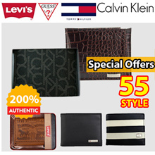 [55 STYLE]  EVENT  Calvin Klein/Tommy/Levis/Guess/ /Mens Wallet / HalfPurse / Keyring Purse/ Card wallet/ Gift / event / brand/logo