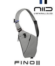 NIID FINO II (NEO) Anti-Theft Sling Bag★Original★Direct from NIID Factory in China★YKK Zippers