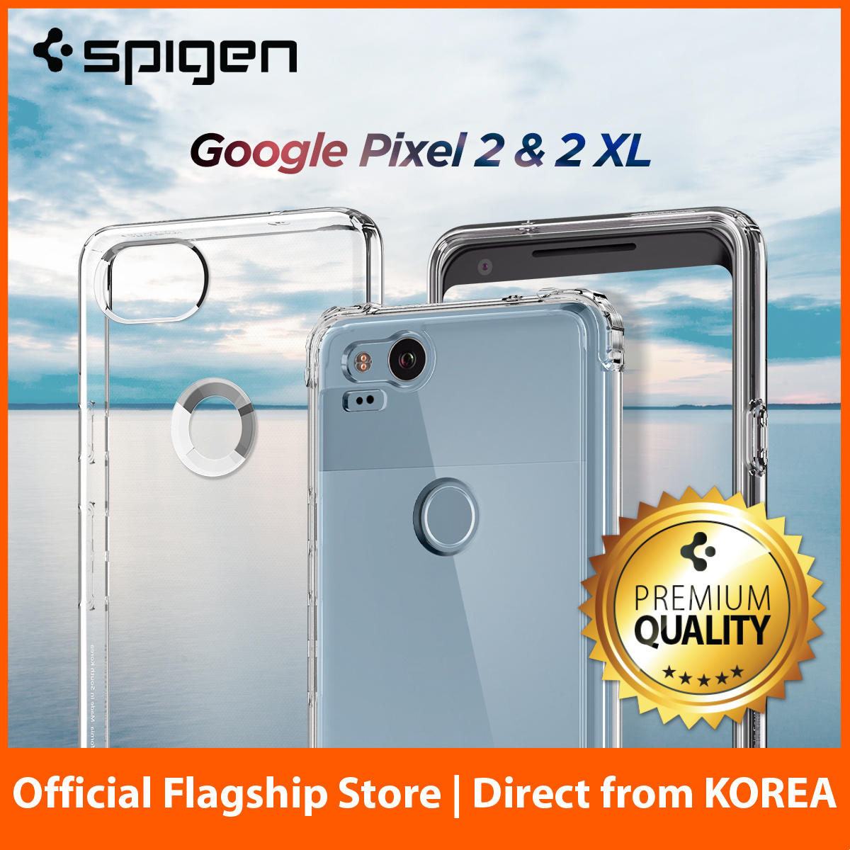 Qoo10 Google Pixel 2 Xl Mobile Accessories Spigen Ipad 97 Case Rugged Armor Original Casing Fit To Viewer