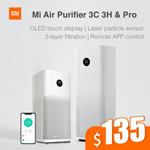 【Official Store】 Xiaomi Mi Air Purifier  3C / Pro / 3H   OLED Screen Display