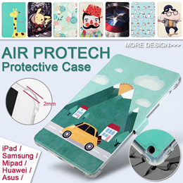[JD Mall] Air ProTech Protective Case Full range of tablet iPad/Samsung/Mipad/Huawei/ASUS