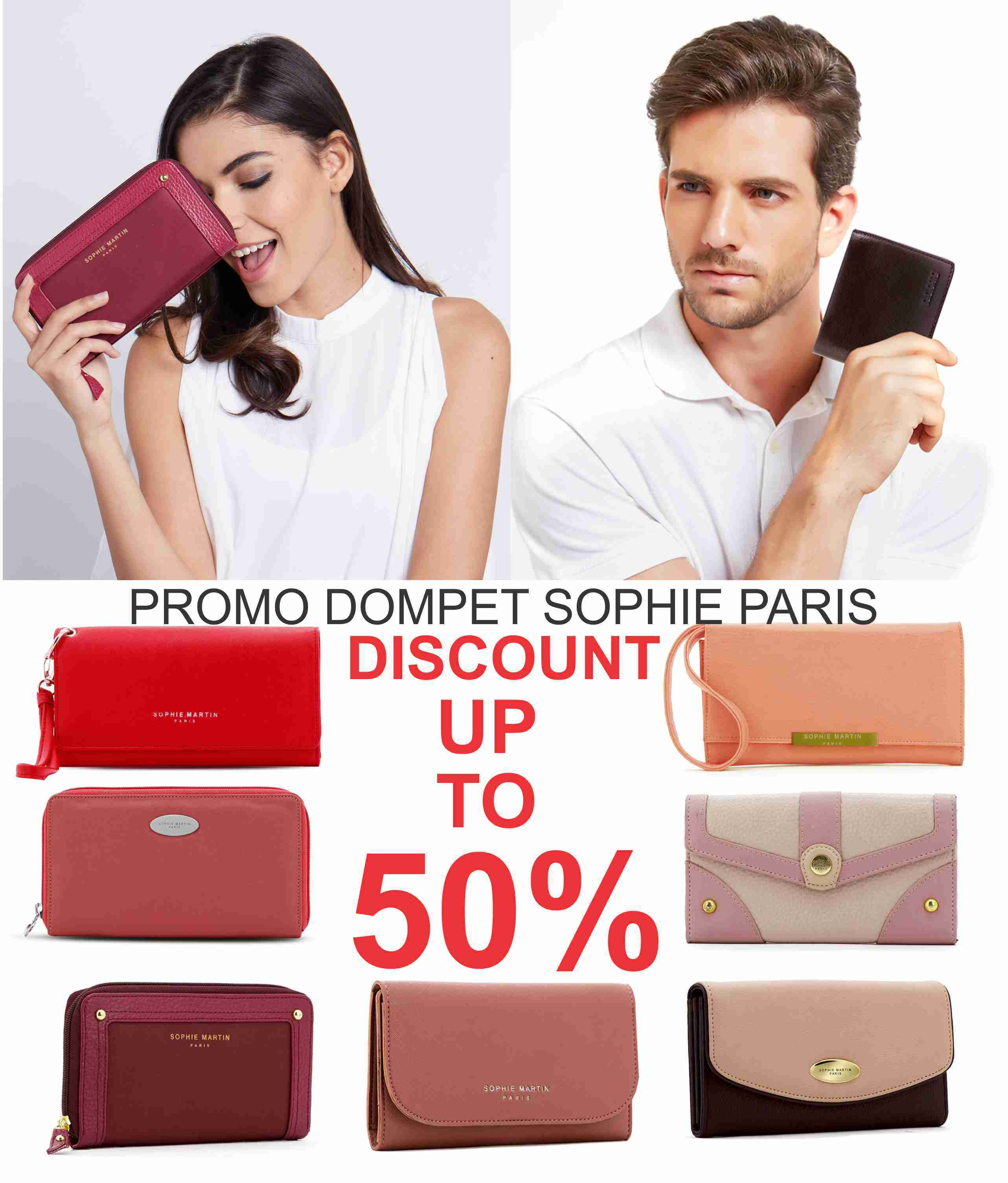 Actual Size Prev Next PROMO NEW YEAR DOMPET SOPHIE MARTIN