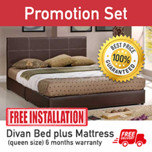 Bed frame - Queen Size Divan  Special offer sales - $ 99