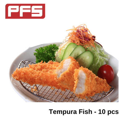 [Frozen Tempura Fish]-10pcs/pkt