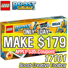 [MAKE $179] [CHEAPEST!!] LEGO Boost Creative Toolbox 17101