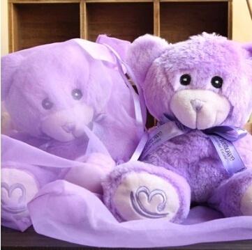 Asli Lavender Teddy Bear mainan mewah boneka boneka hadiah ulang tahun  perempuan beruang pelukan beruang boneka 0f61656876