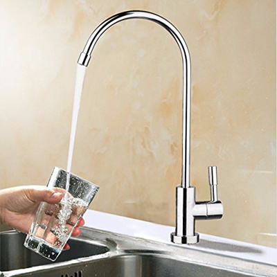 Hapyly Ro Water Filter Faucet Drinking Water Faucet Chrome Ro Reverse Osmosis Kitchen Sink Drinking