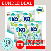 [BUNDLE DEAL] KA 3 in1 Laundry Detergent Capsule 30 x 4 Packs - 120pcs CHEAPEST IN TOWN