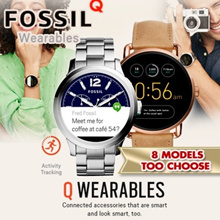 FOSSIL Q TOUCHSCREEN Smart Watch Collection.Activity Tracking / Touch Screen