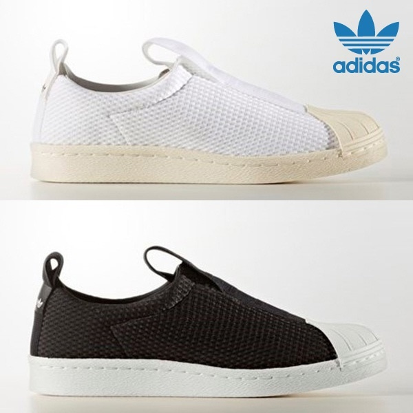super popular 2c0b7 085e5 adidasADIDAS SUPERSTAR BW3S SLIPON W BY2949 BY9137/D SHOES SNEAKERS Women  Men`s
