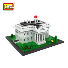 LOZ Architecture White House 588pcs