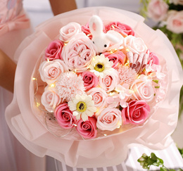 a89c721220aee1 ❤Flower bouquet Roses❤Red Rose Mothers Day Valentine Proposal Wedding
