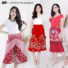 Evercloth Batik Bottoms / Culottes Pants / Batik Skirts / Span Skirts