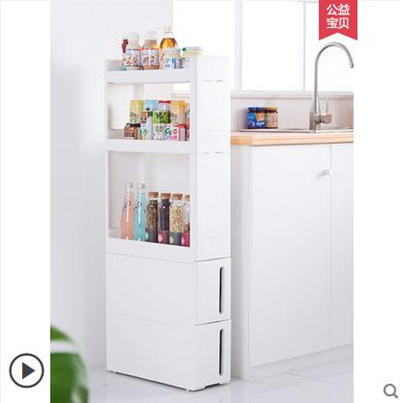 Drawer and drawer cabinets kitchen narrow storage cabinets bathroom plastic  storage cabinet racks