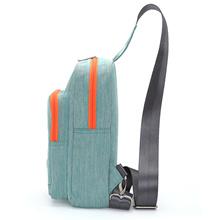 TINYAT 2018 Men Shoulder Sling Bag Waterproof Canvas Crossbody Messenger Bag Design Light Travel Che