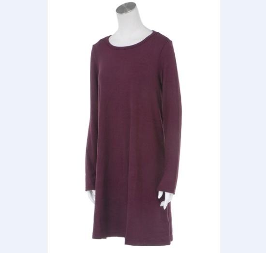ギャップ女性Softspun長い腕スイングワンピース5127340013070 面ワンピース/ 韓国ファッション