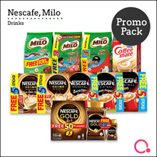 [NESTLÉ] Nescafe/ Milo Promo Packs - UP TO 50% OFF EXTRA