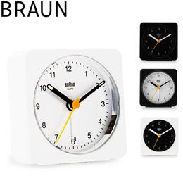 ブラウン BRAUN 時計 置き時計 アラーム クロック BC03 Classic Analogue Alarm Clock 目覚まし時計 アナログ 置時計 ブランド