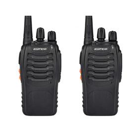 对讲机   /    宝峰BF-888S民用手持对讲机2pcs USB充电