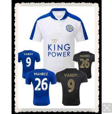 sale retailer 8c62d ea664 White 26 mahrez Jersey Leicester City Premier League jerseys from the Blue  House Leicester Vardy 151
