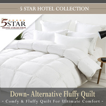 5 Star Hotel Collection Fluffy Quilt
