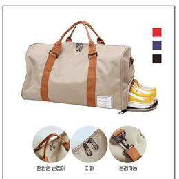 运动瑜伽健身包韩版手提旅行包多功能独立鞋位斜挎户外行李包